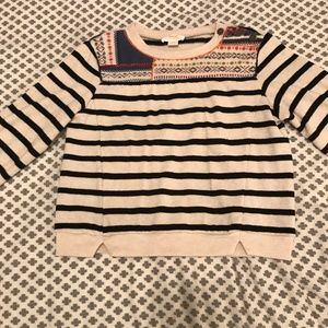 Striped Anthropologie Sweater